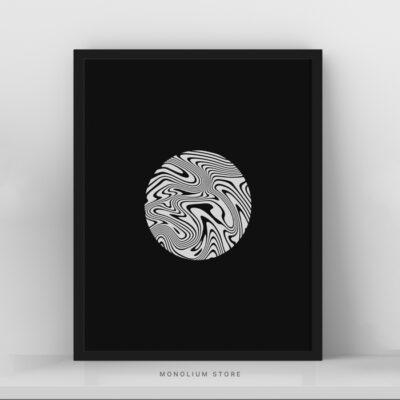 Poster Hiasan Dinding Monolium